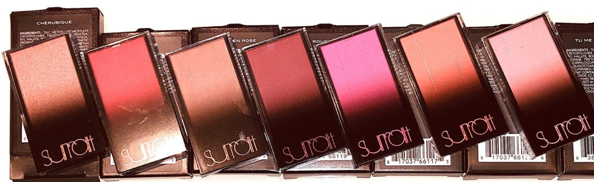 THE SURRATT BEAUTY ARTISTIQUE BLUSH GOES FROM SINGLE REFILL PACKAGING TO ....