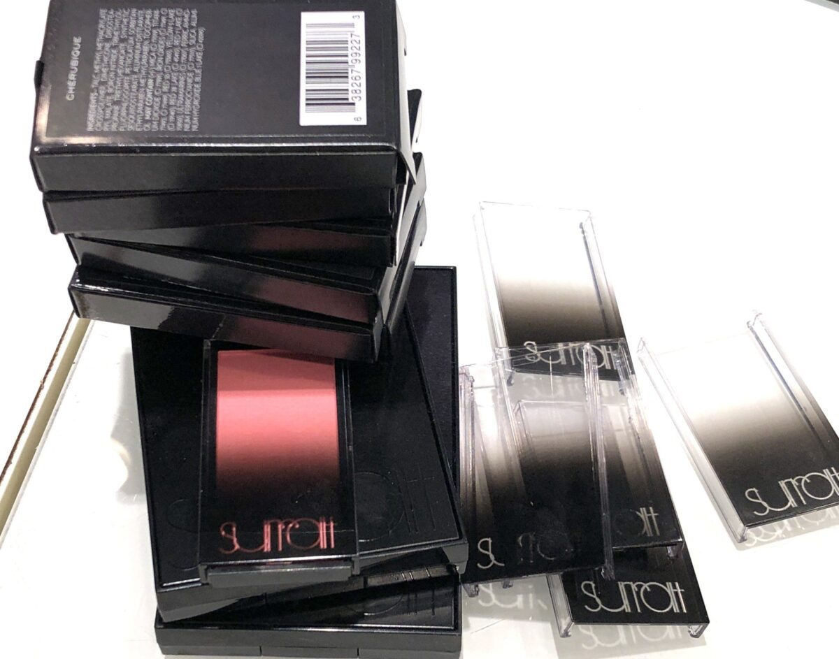 OUTER PACKAGING AND REFILL PACKAGING FOR SURRATT ARTISTIQUE BLUSH