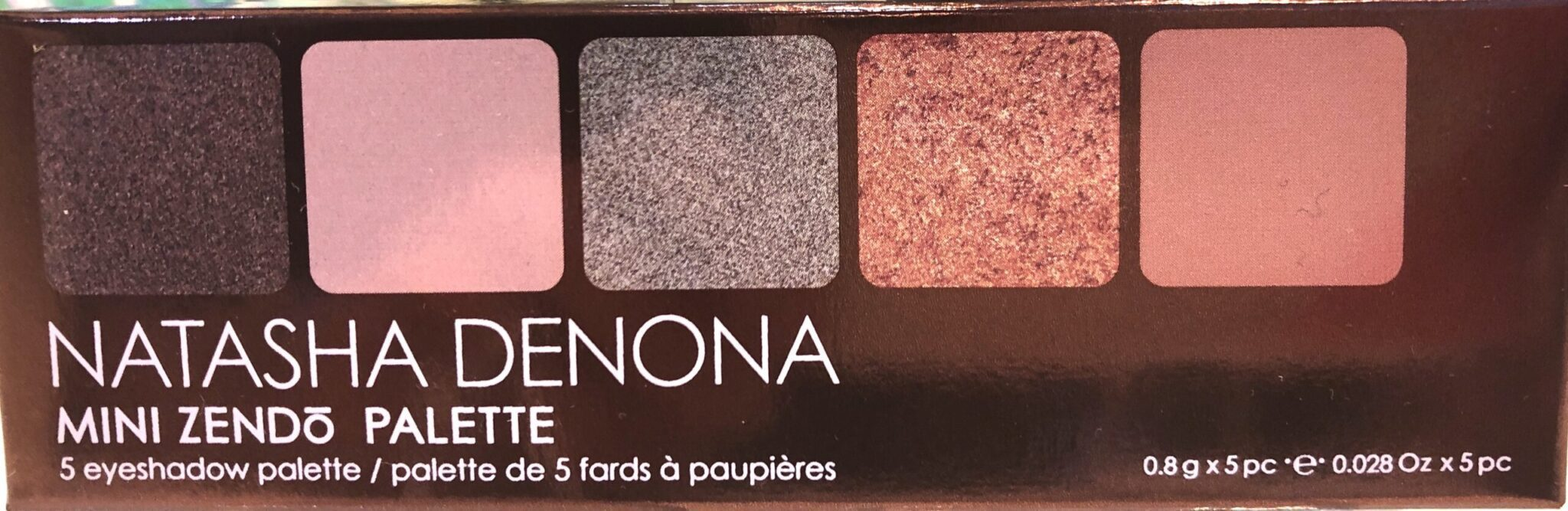 Natasha Denona Mini Zendo Eyeshadow Palette Box