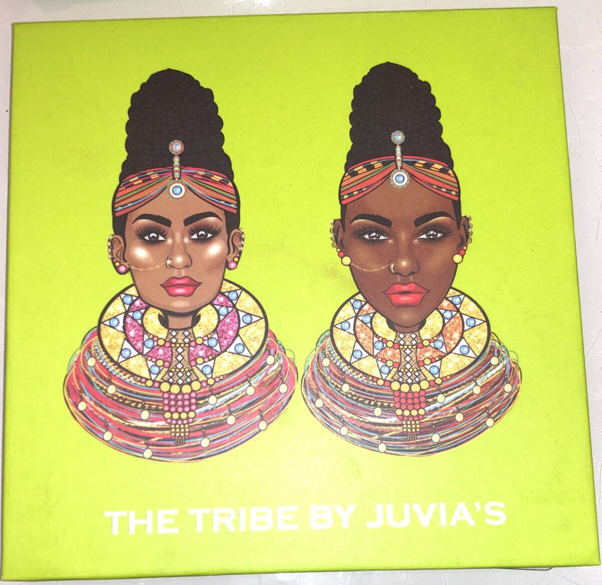 THE JUVIA'S PLACE THE TRIBE EYESHADOW PALETTE COVER