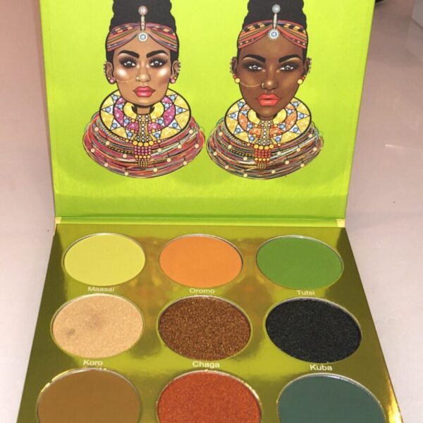 INSIDE THE JUVIA'S PLACE THE TRIBE EYESHADOW PALETTE
