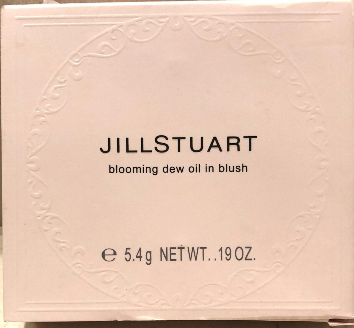 THE JILL STUART BLOOMING DEW OIL-IN BLUSH OUTER BOX