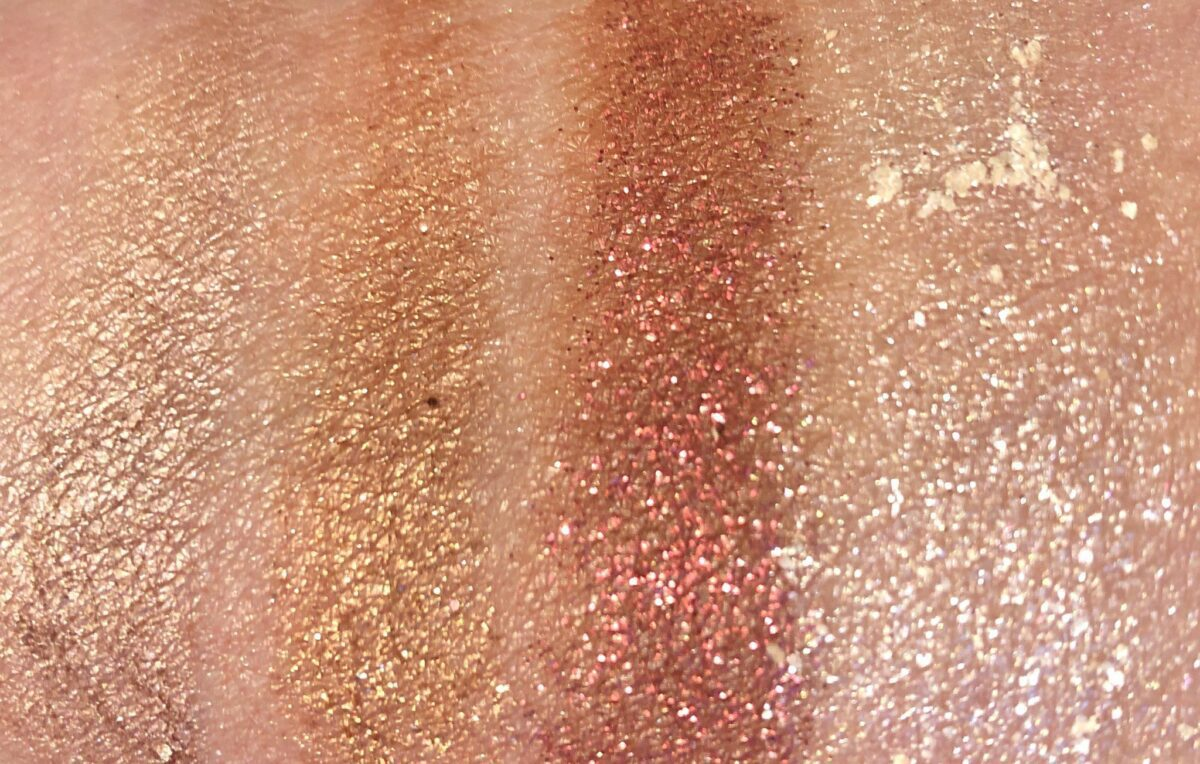 SWATCHES RORW 2-LEFT TO RIGHT: DO IT RIGHT, CAN YOU FEEL IT, COME TO ME, SHAKE YOUR BODY