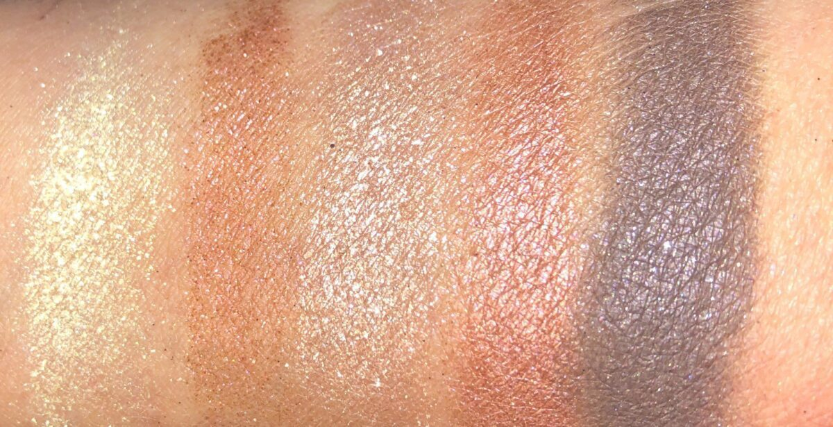 MORE SWATCHES FROM MAC HOLIDAY STAR SIGHTING NEUTRAL EYE PALETTE