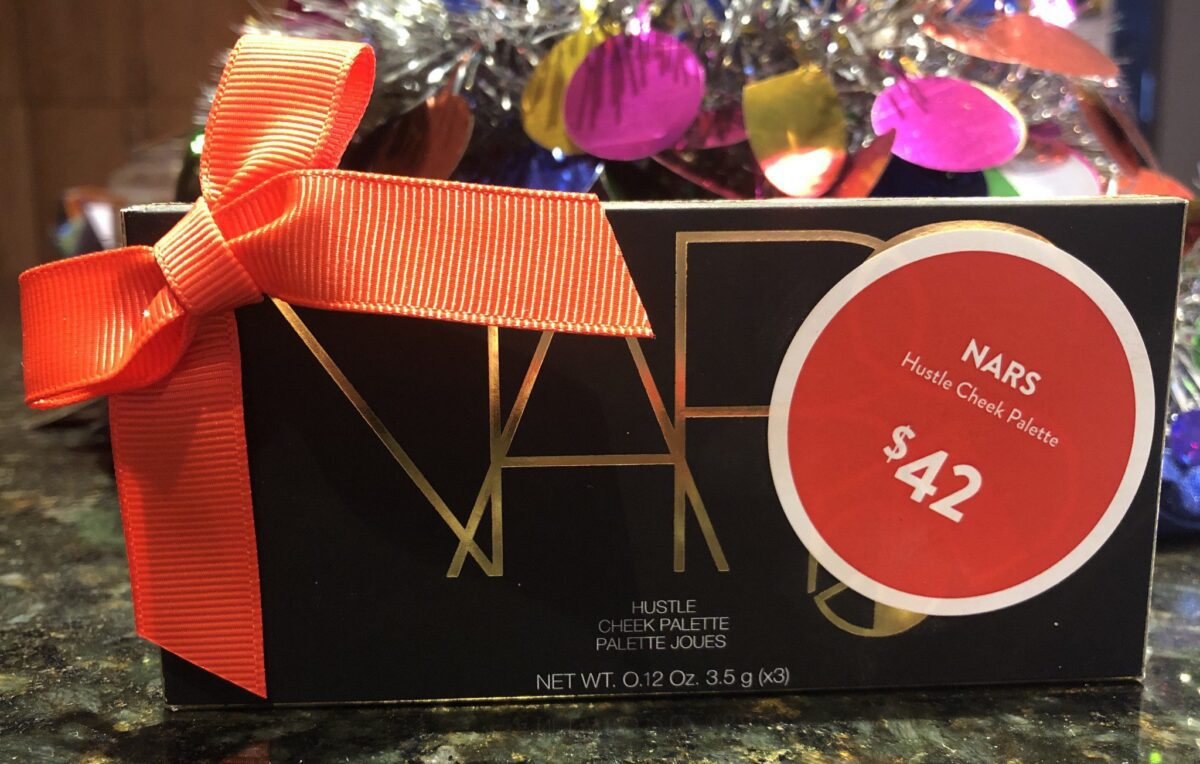 NARS STUDIO 54 HOLLIDAY COLLECTION INFERNO EYE SHADOWS, AND HUSTLE CHEEK PALETTE