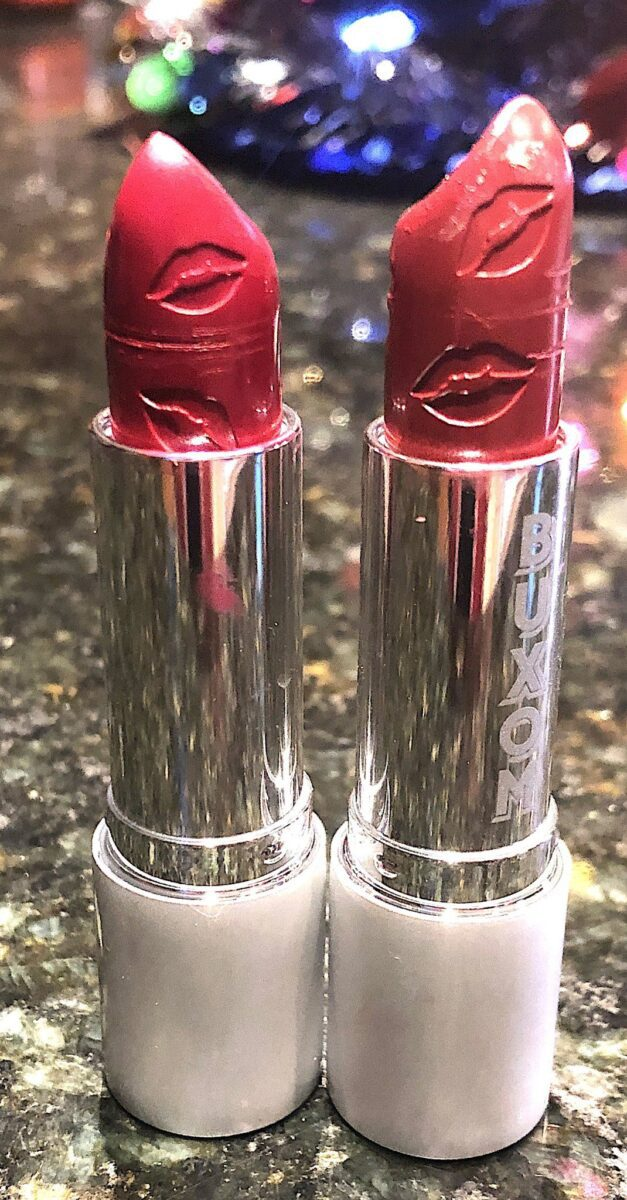THE BUXOM FULL FORCE LIP PLUMPING LIPSTICK IN WINNER AND LOVER