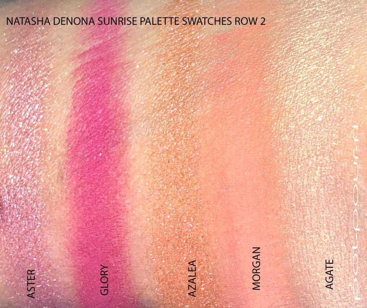 SWATCHES FOR THE SECOND ROW