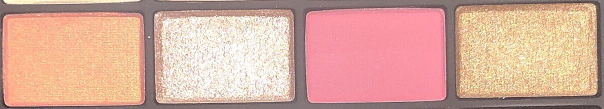 ROW 2 OF NARS STUDIO 54 HOLIDAY HYPED EYESHADOW PALETTE
