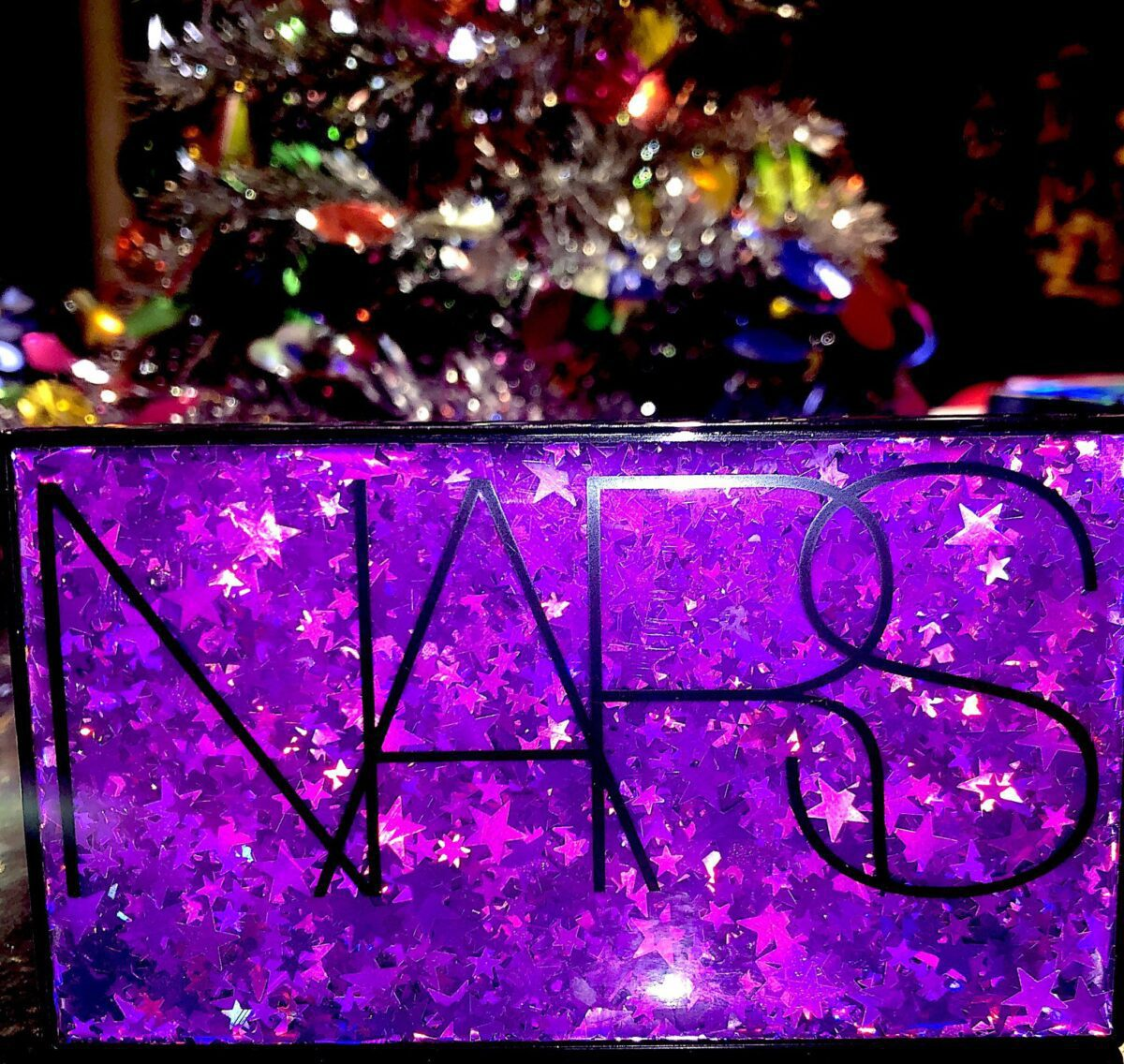 NARS STUDIO 54 HOLIDAY HYPED EYESHADOW PALETTE COMPACT CASE