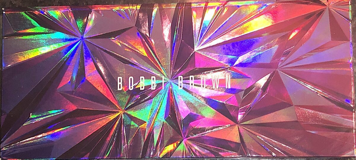 "THE FRONT OF THE BOBBI BROWN EYESHADOW PALETTE ""IN A FLASH"""