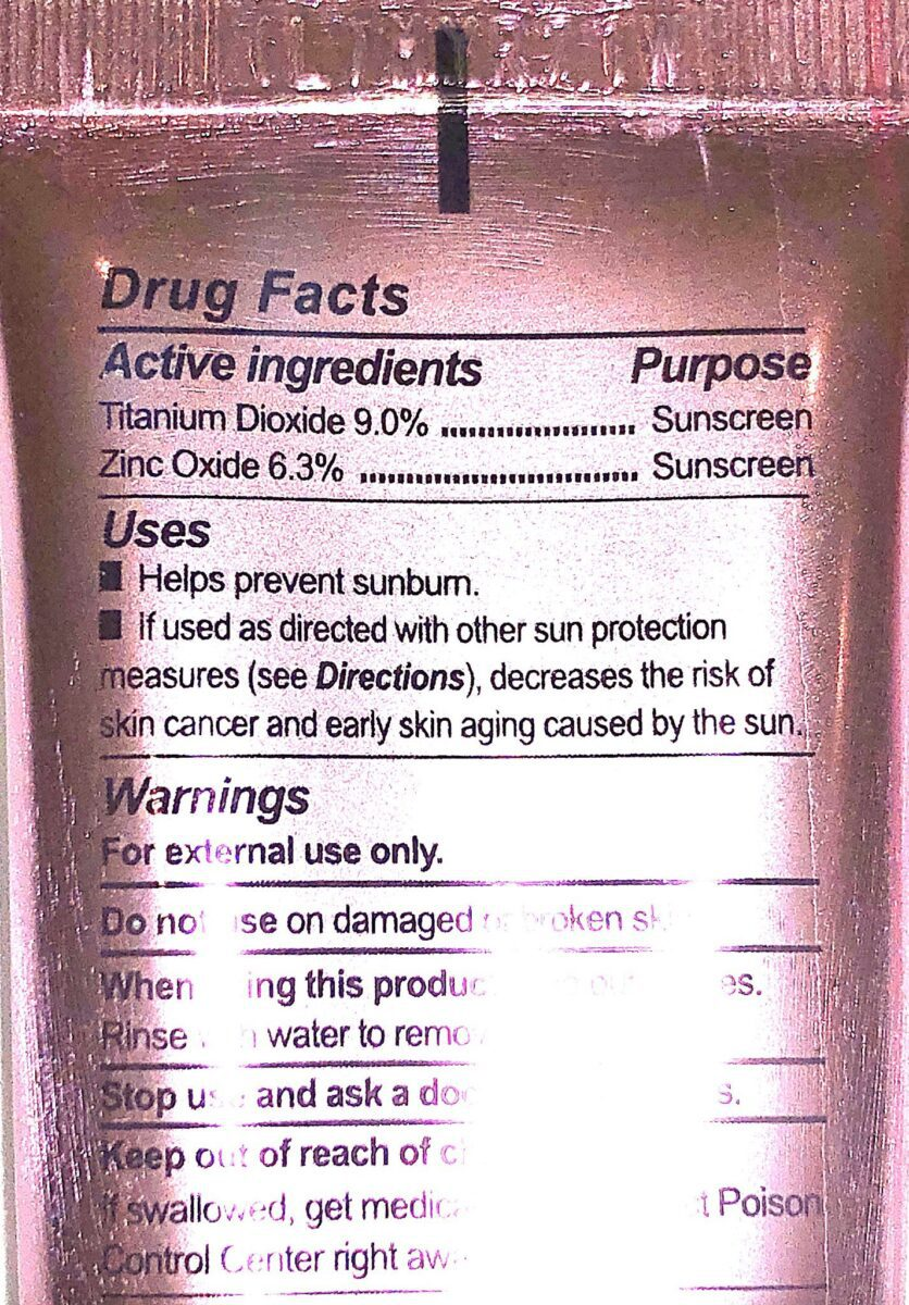 NATURAL PHYSICAL SUNSCREEN AGENTS