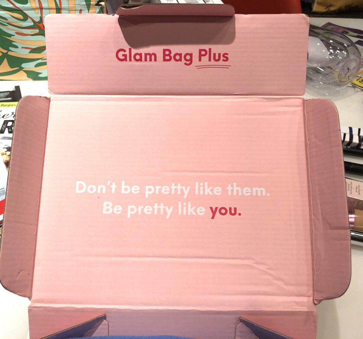 OPENING THE IPSY GLAM BAG PLUS BOX