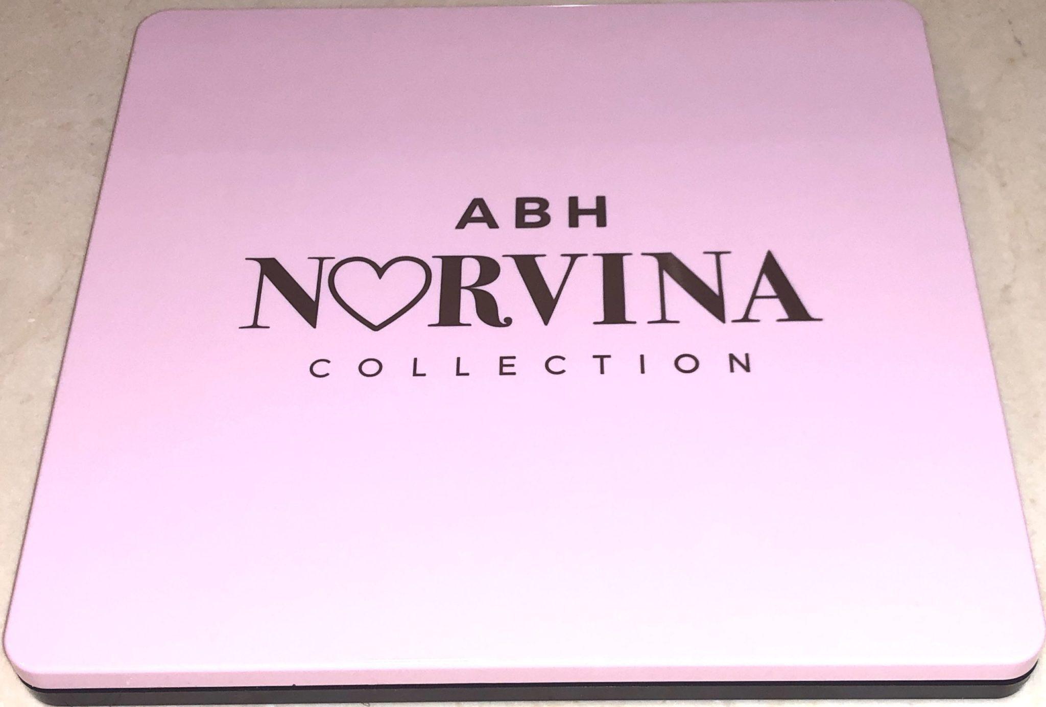 NORVINA VOLUME 4 PRO PIGMENT PALETTE CASE