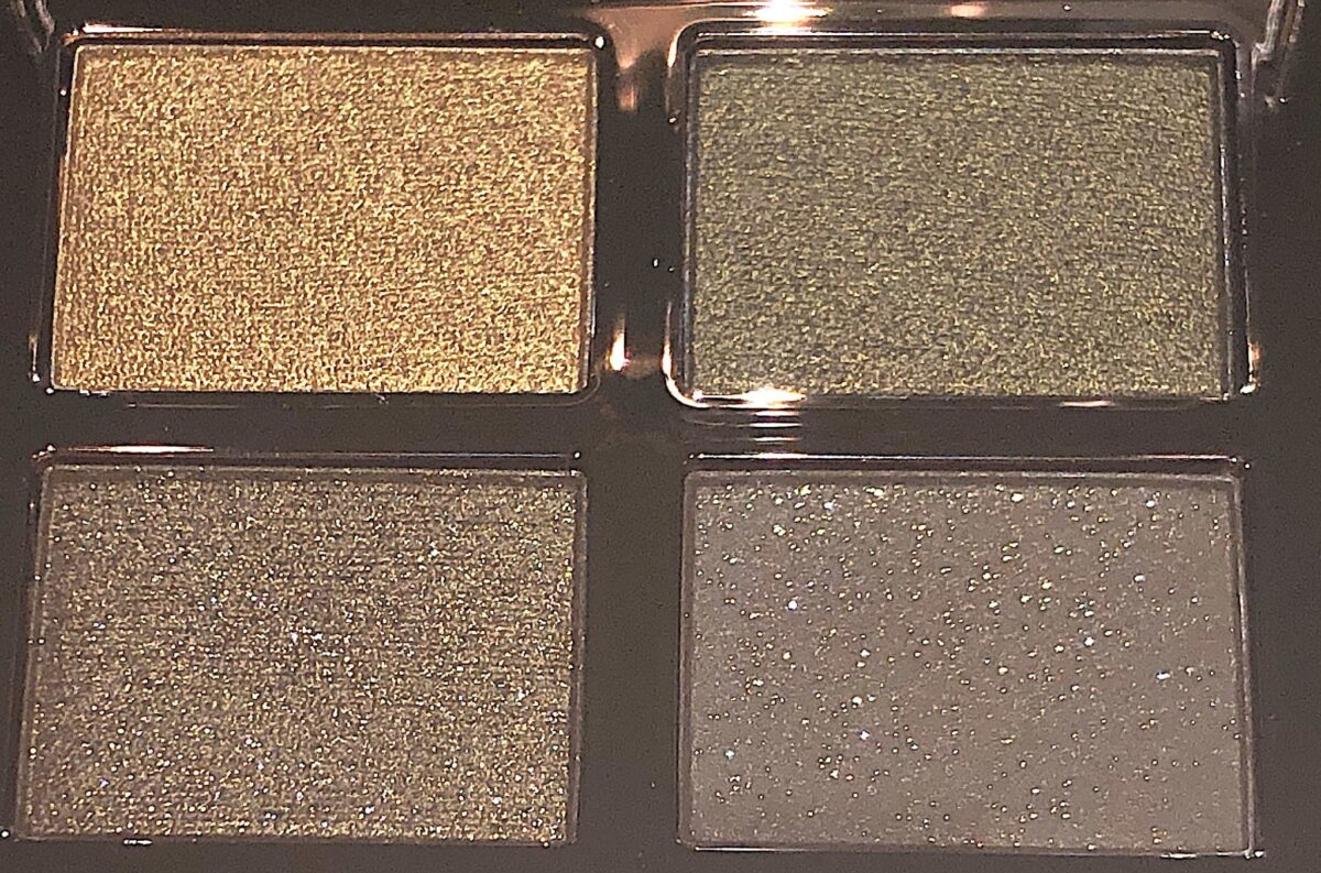 REBEL SHADES CLOSE UP IN THE CHARLOTTE TILBURY EYESHADOW QUAD