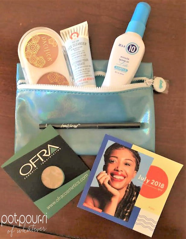 Randi's Ipsy Glam Bag Subscriptions July 2018