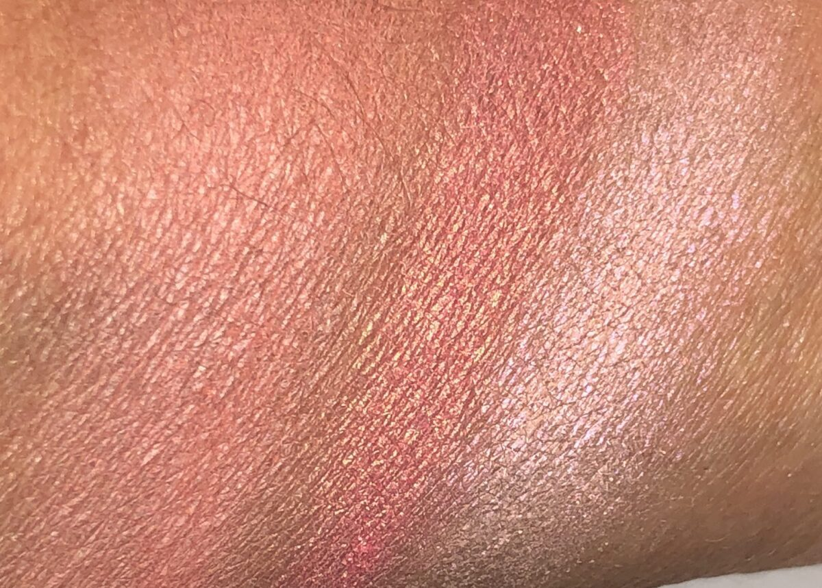 SWATCHES FOR IPSY X BETTY BOOP CHEEK TO CHEEK PALETTE