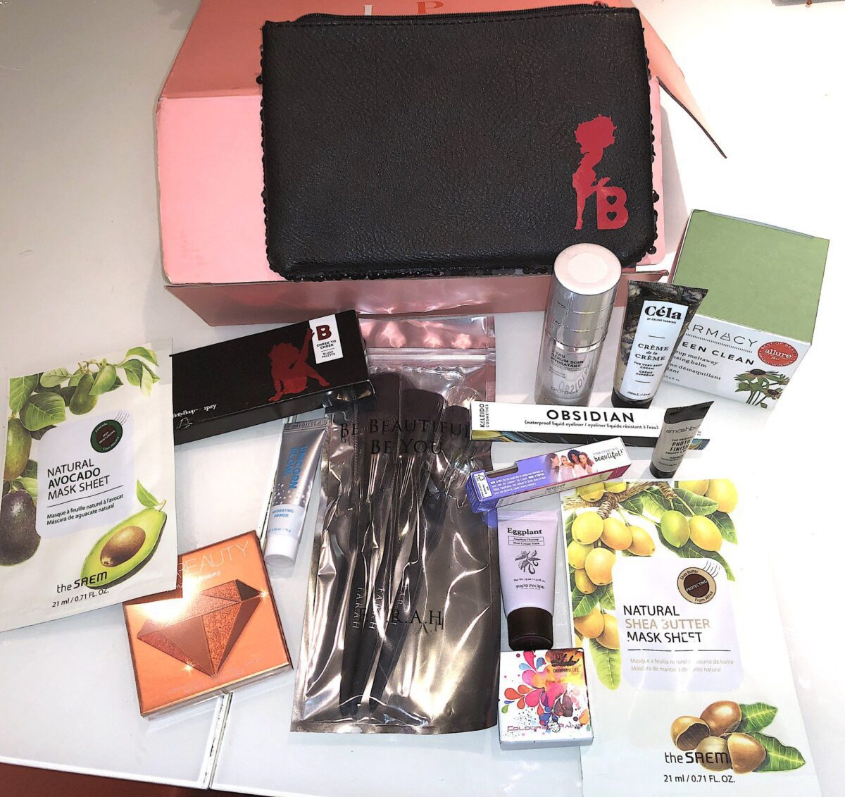 THE IPSY GLAM BAG ULTIMATE OCTOBER 2019 BOX AND CONTENTS