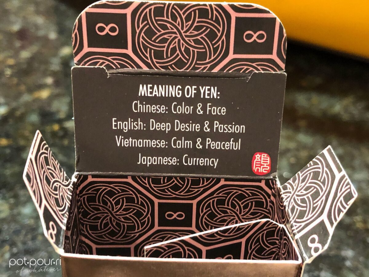 THE MEANING OF YEN