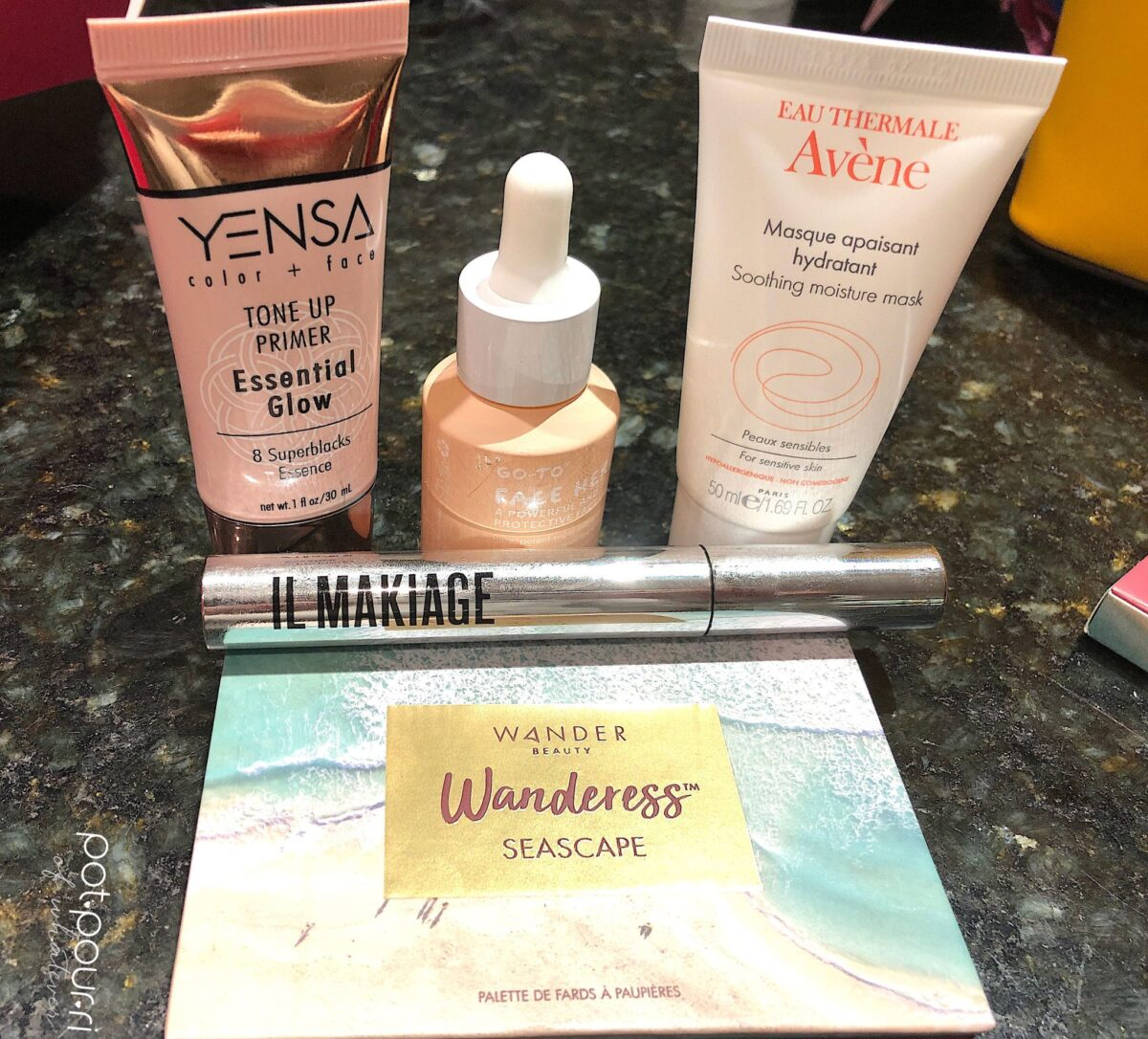 IPSY MAY GLAM BAG PLUS UPGRADE SUBSCRIPTION PRODUCTS ARE EQUAL TO OR GREATER THAN $120