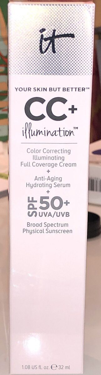 IT COSMETICS CC CREAM ILLUMINATION SPF 50+ OUTER BOX