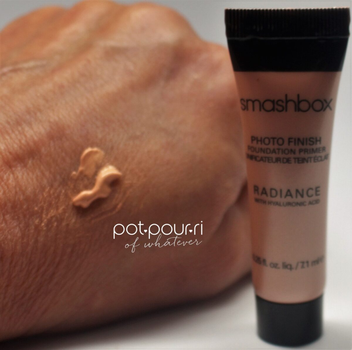 swatch of Smashbox Primer
