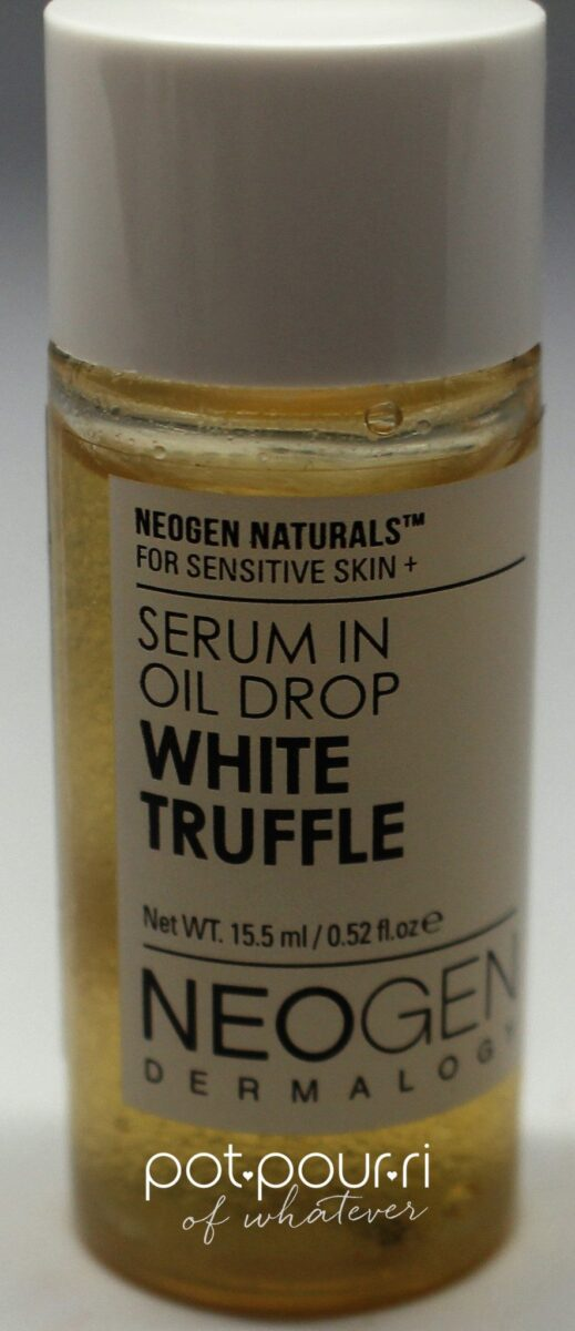 Ipsy subscription bag white truffle serum in oil drop