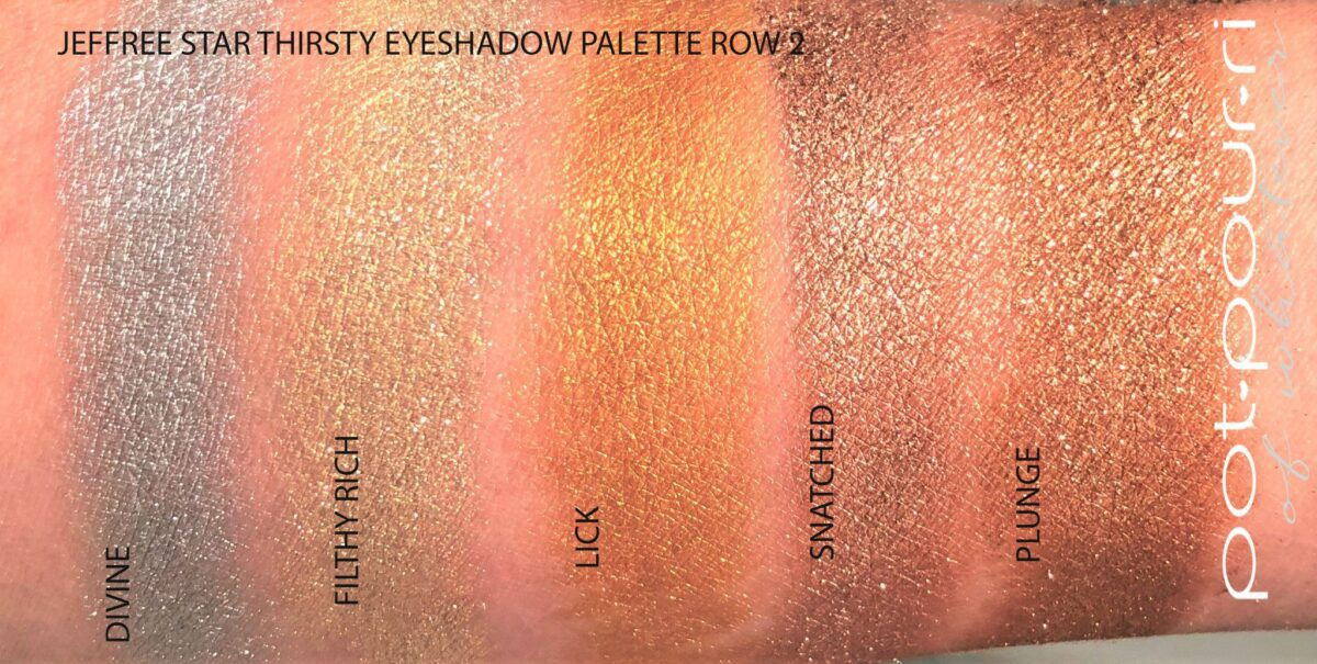 ULTRA METALLICS ROW 2 SWATCHES
