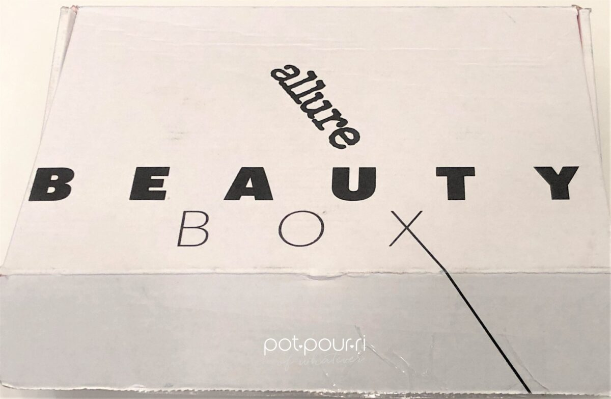 JANUARY EDITION ALLURE BEAUTY BOX PACKAGING