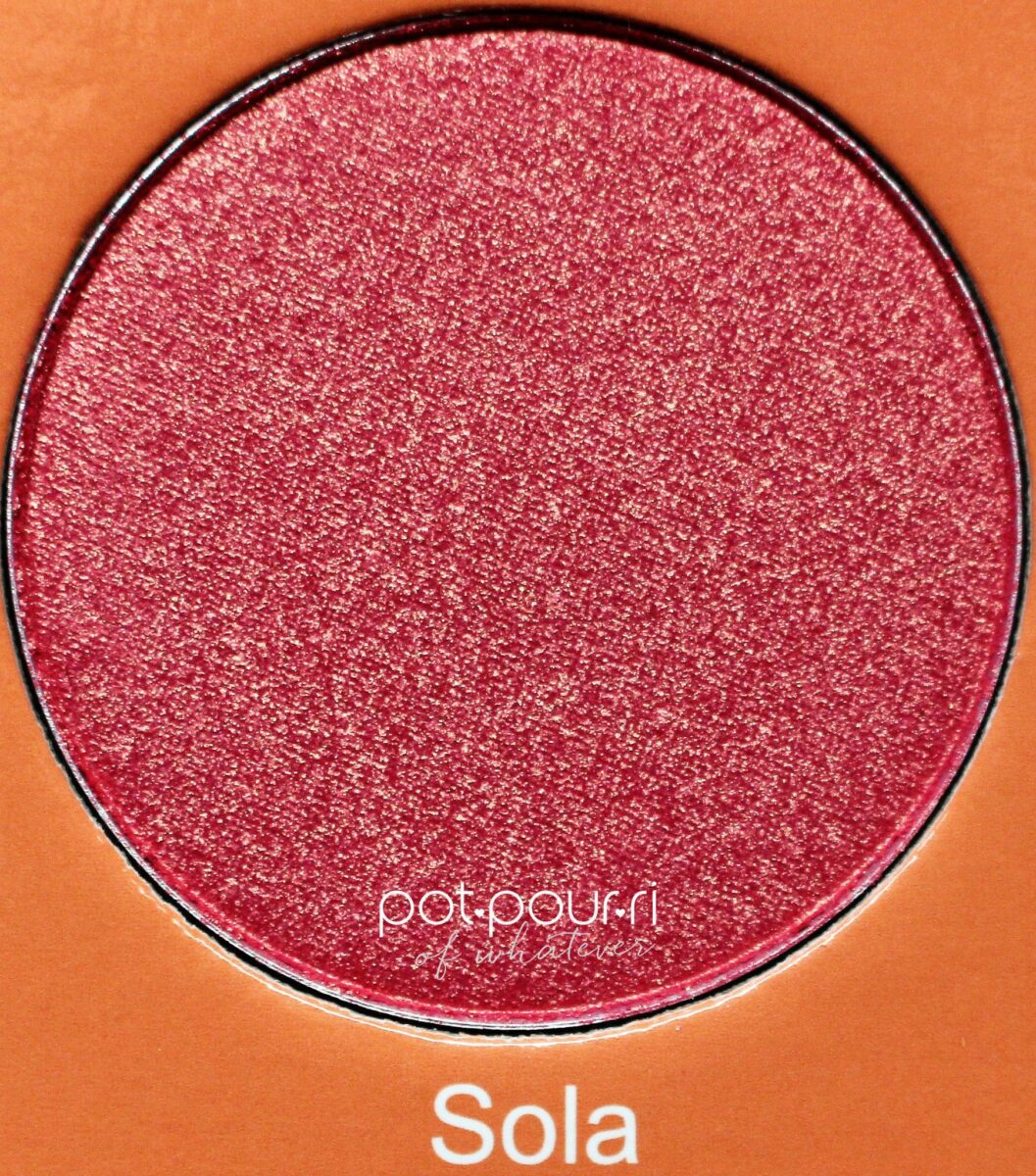 Juvia-saharan-blush-palette-vol-11-Sola-bright-pink-orange-duochrome-shimmer