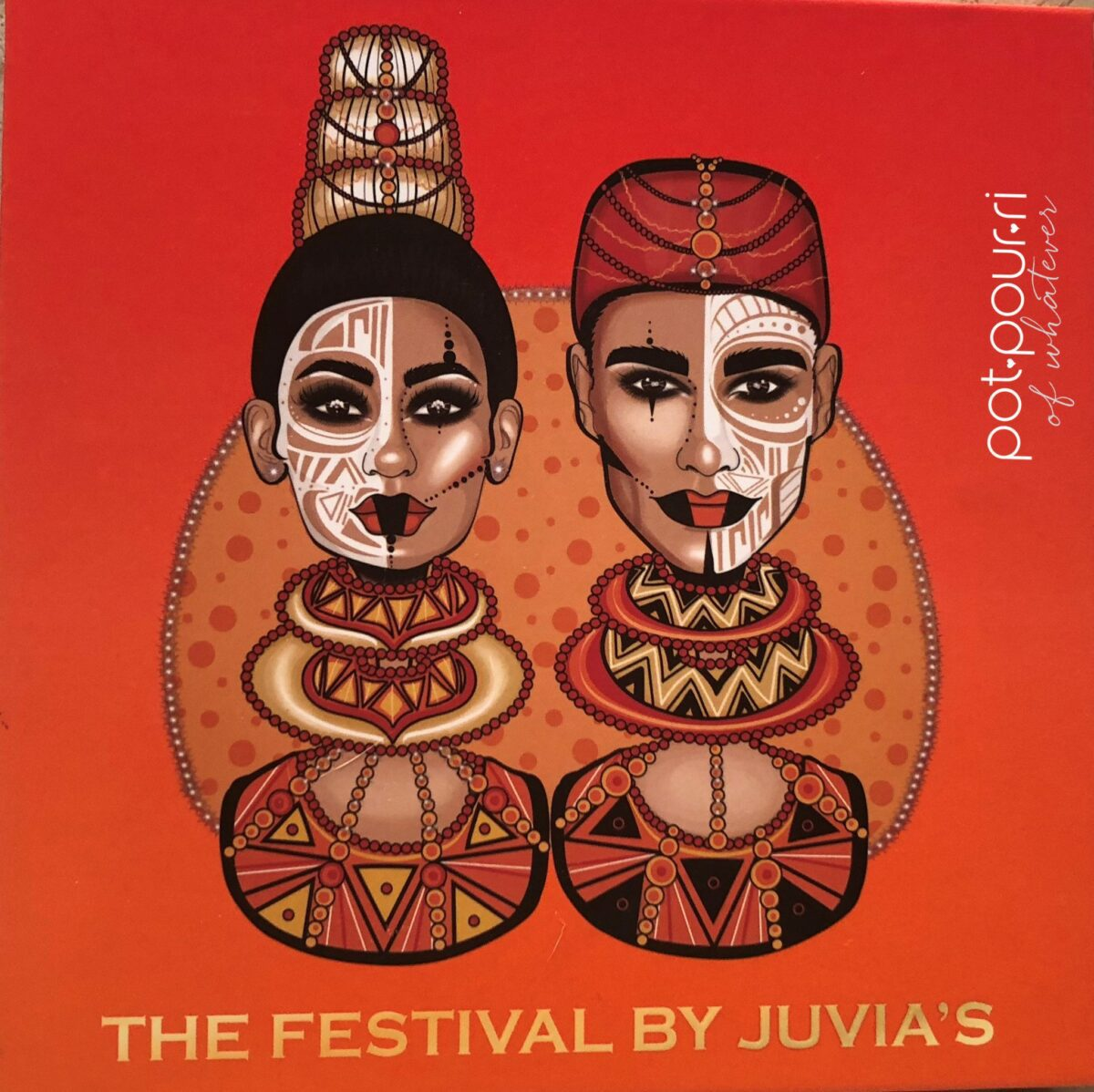 JUVIA'S PLACE FESTIVAL COLLECTION EYE SHADOW COMPACT