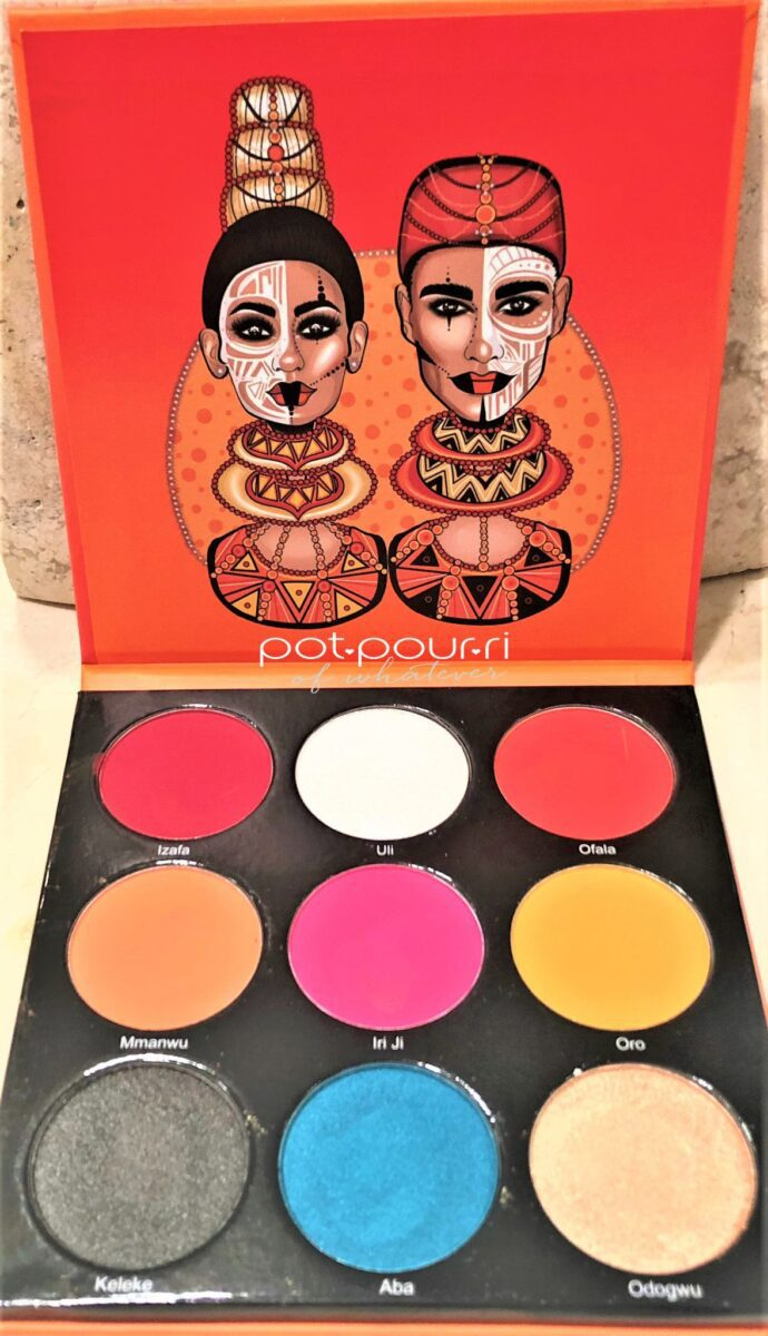 JUVIA'S PLACE FESTIVAL COLLECTION EYE SHADOW BOX