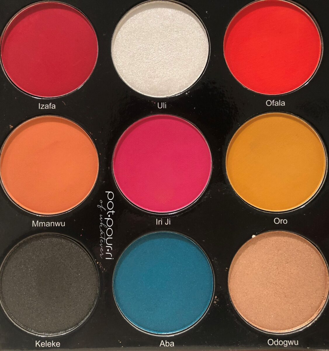 JUVIA'S PLACE FESTIVAL COLLECTION EYE SHADOWS