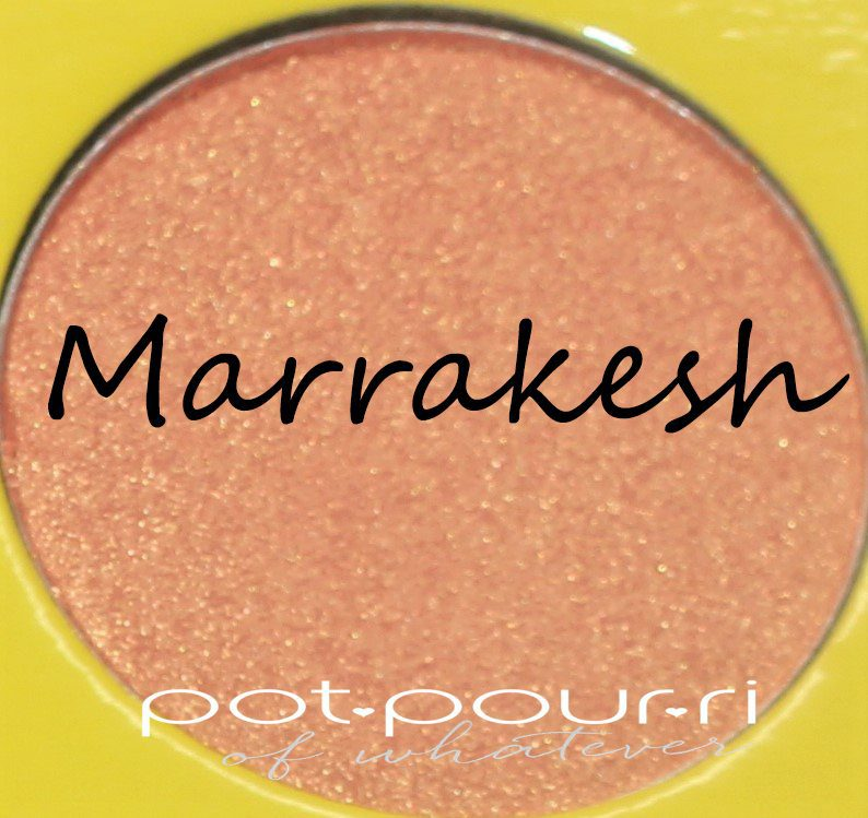 Juvia's-Saharan-Moroccan-11-eyeshadows--Marrakesh-medium-peachy-apricot-shimmery-metallic
