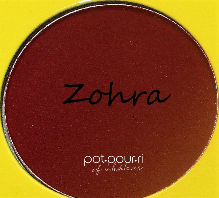Juvia's-Saharan-Moroccan-11-eyeshadows-Zohra-rich-pinkish-red-matte