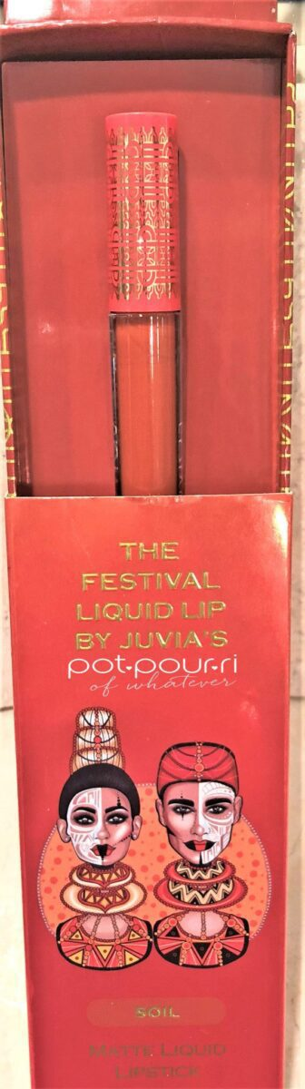JUVIA'S PLACE FESTIVAL COLLECTION LIQUID LIPSTICK BOX