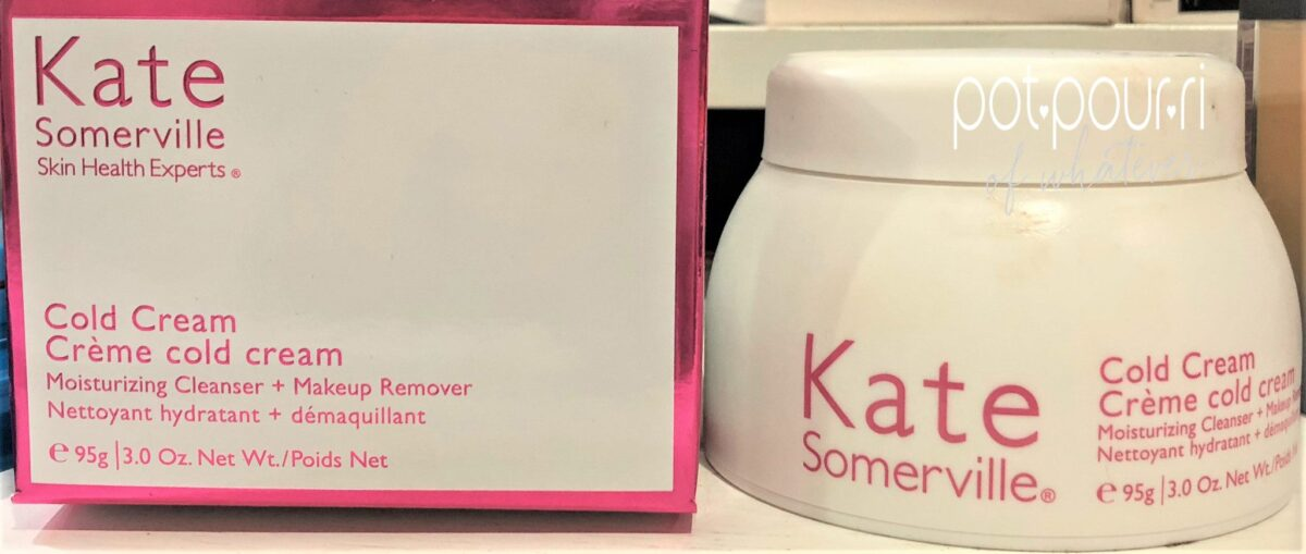 Kate Somerville Cold Cream Packaging