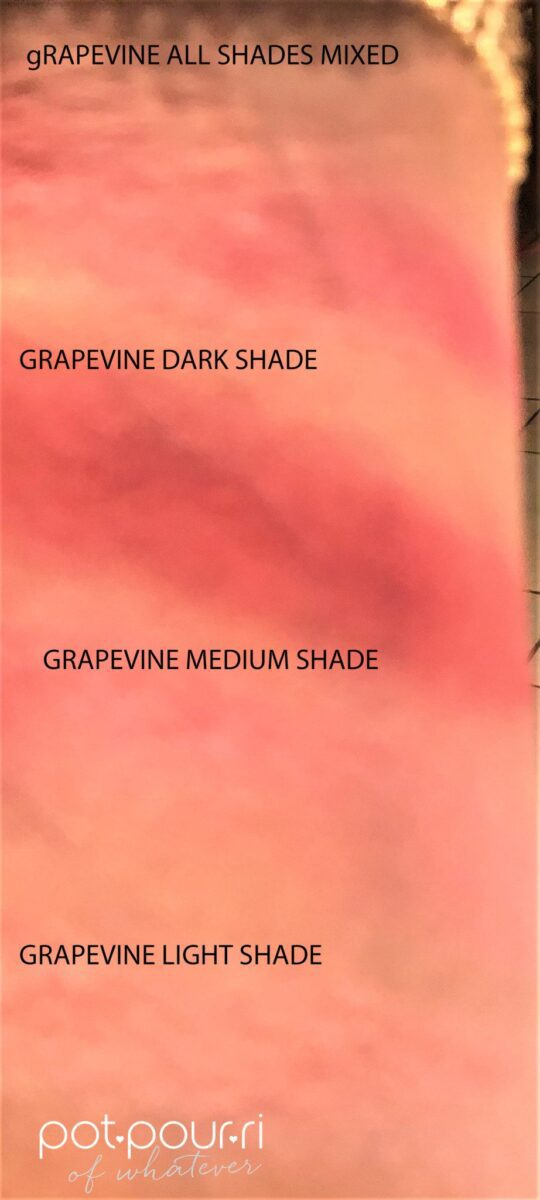 GRAPEVINE SWATCHES