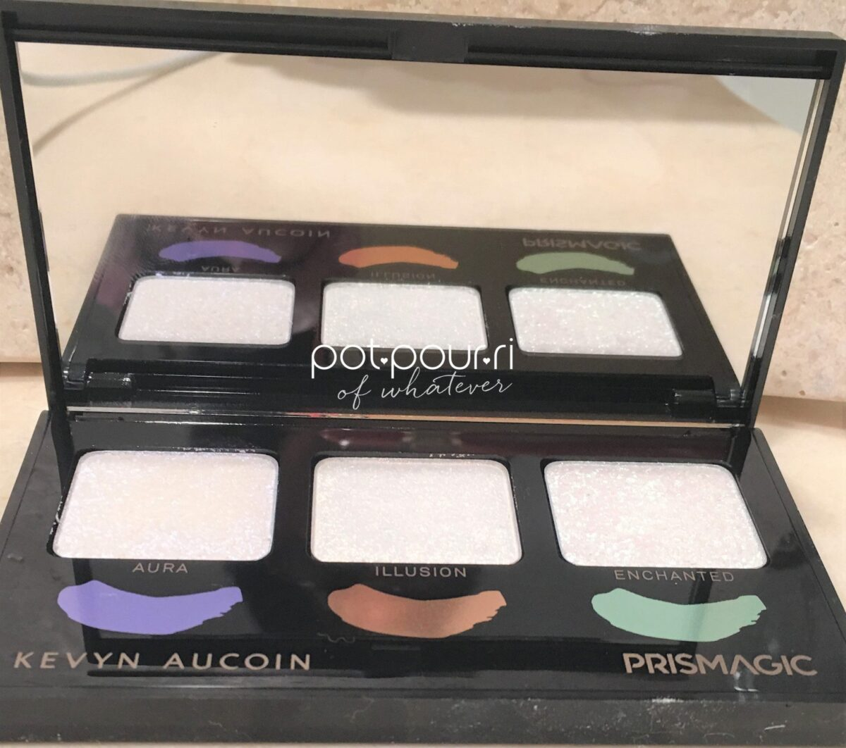 KEVYN AUCOIN PRISMAGIC HIGHLIGHTER TRIO COMPACT