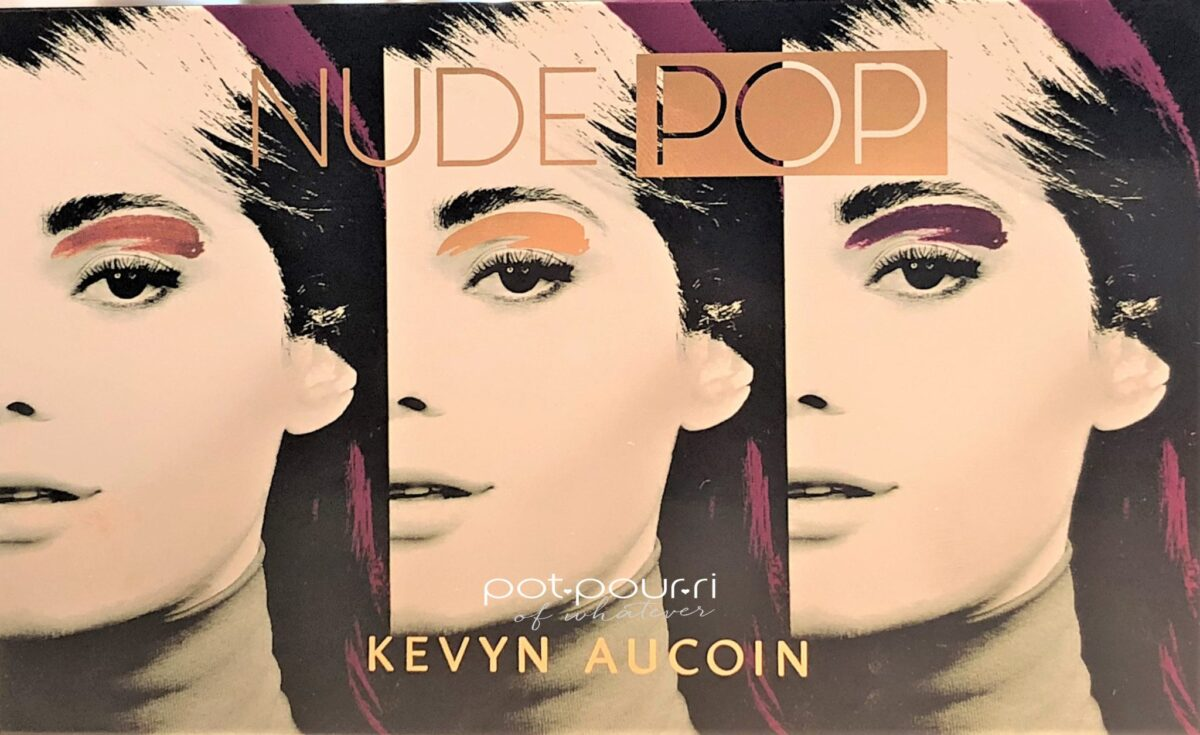 COMPACT COVER KEVYN AUCOIN NUDE POP EYE SHADOW PALETTE