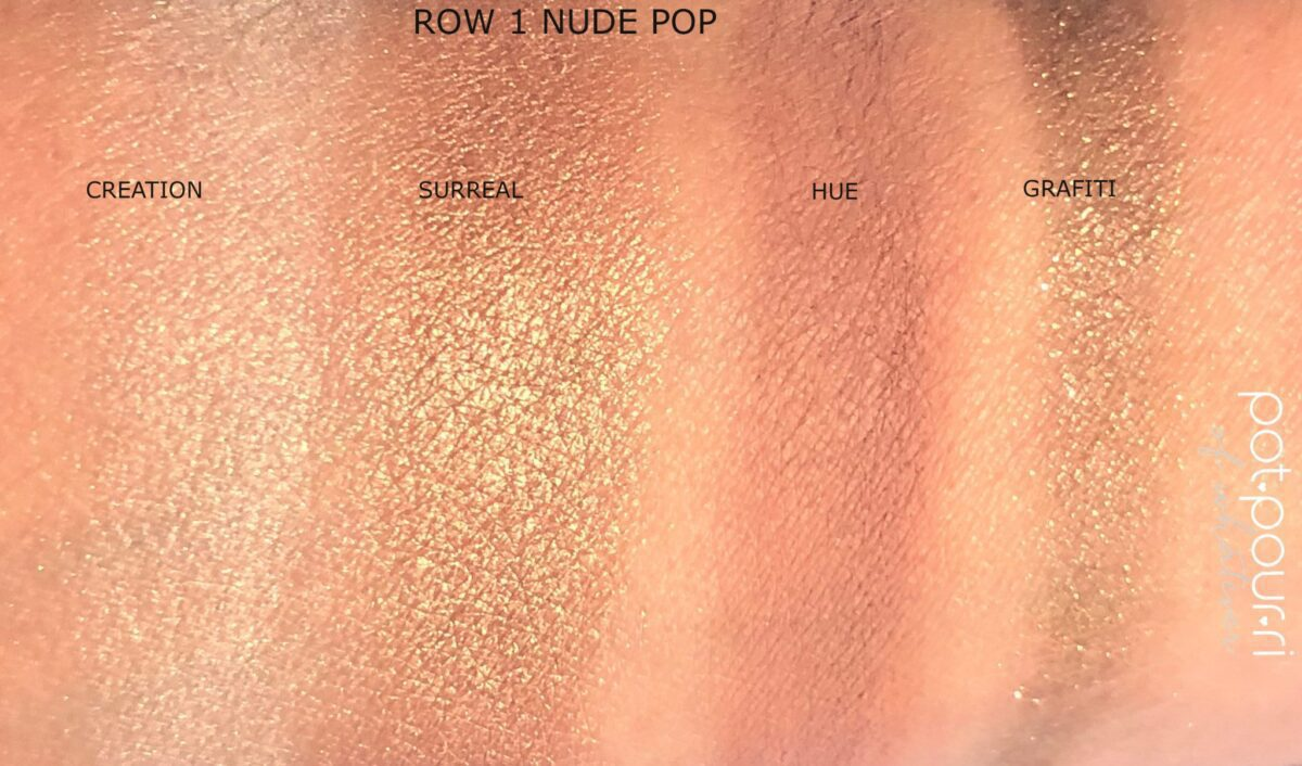 ROW ONE SWATCHES