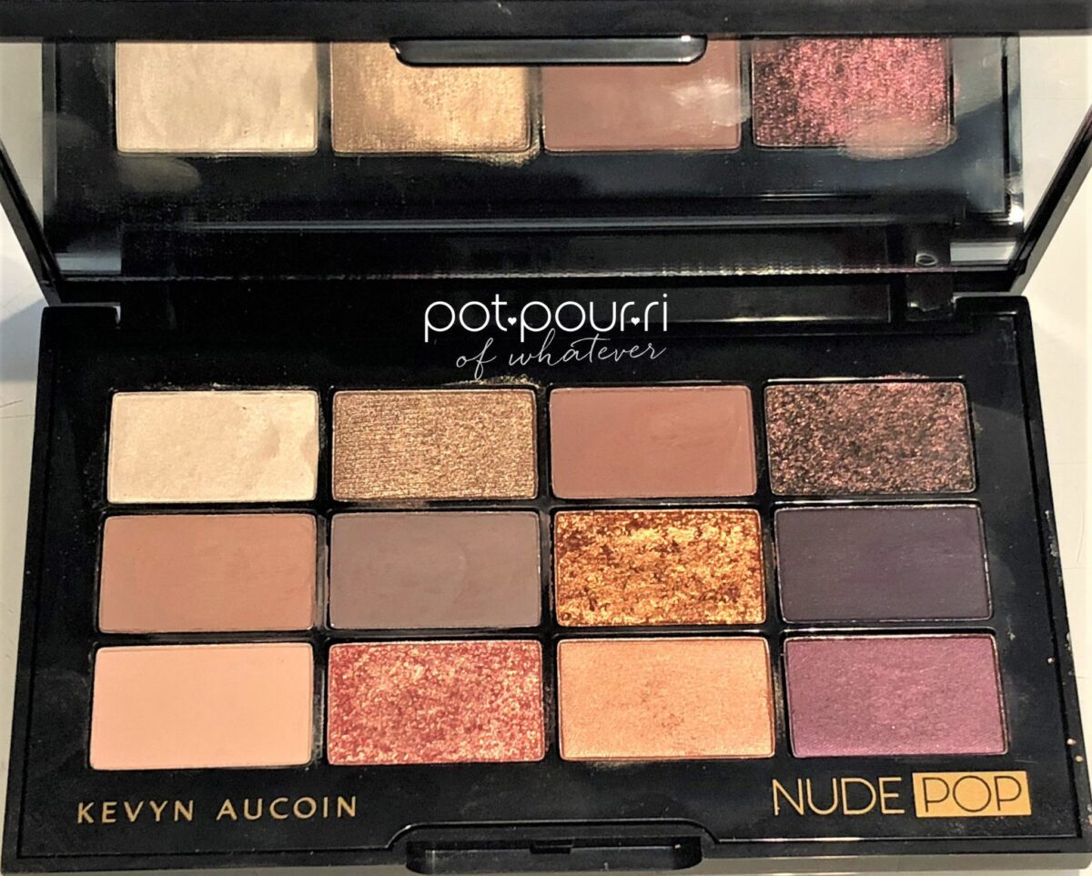 KEVYN AUCOIN NUDE POP PRO EYE SHADOWS HOLIDAY 2018 LIMITED EDITION