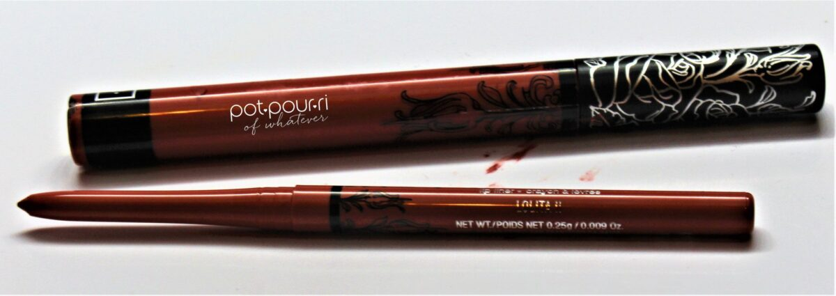 Lolita 11 Everlasting Liquid Lipstick and lip liner