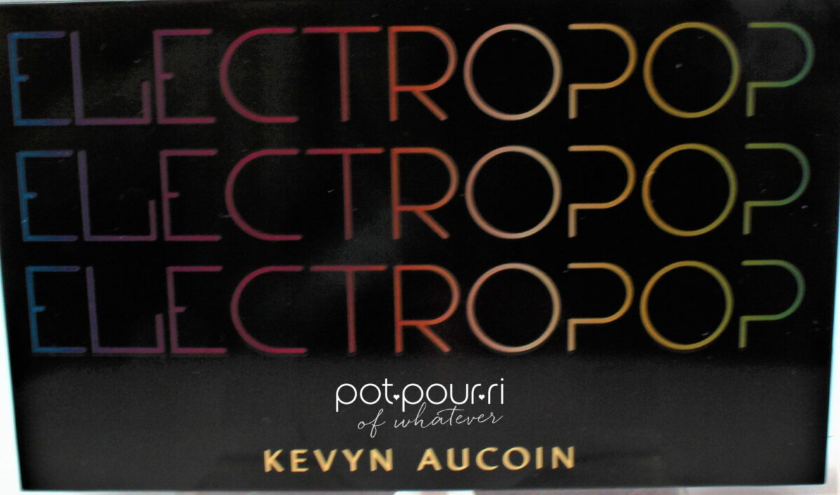 Kevyn Aucoin Electropop Pro Eyeshadow Palette compact