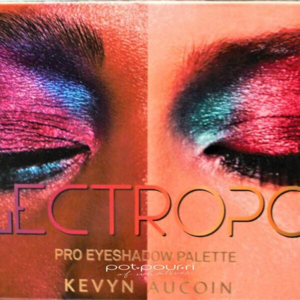 Kevyn Aucoin Electropop Pro Eyeshadow Palette packaging