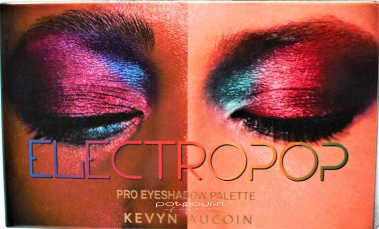 Kevyn Aucoin Electropop Pro Eyeshadow Palette packaging