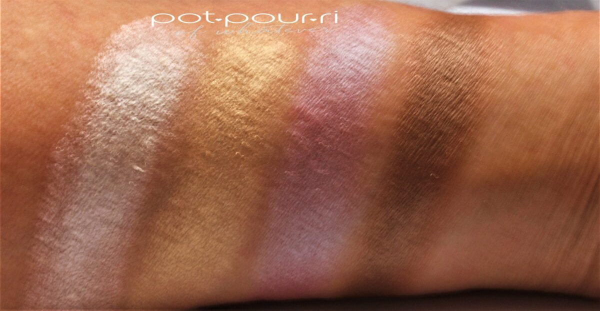 Kevyn-Aucoin-new-pro-palette-electropop-swatches-row-1
