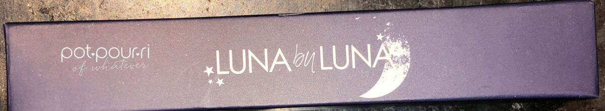 PACKAGING FOR LUNA BY LUNA LIPGLOSS IN VENUS