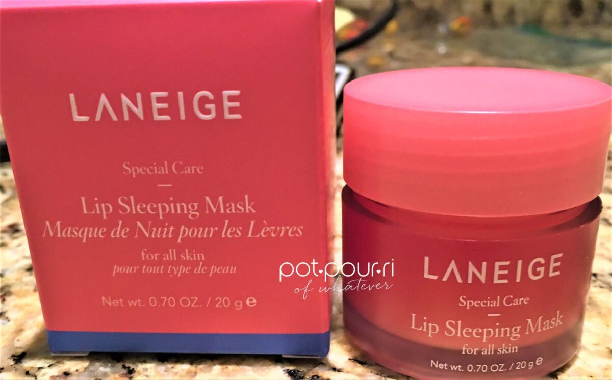 Laneige Lip Sleeping Mask Packaging