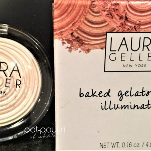 baked gelato swirl illuminator diamond dust compact and box