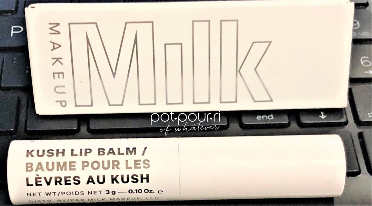 MILK MAKEUP KUSH LIP BALM WITH CANNABIS OIL
